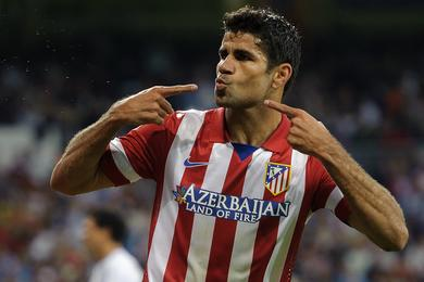 Atletico Madrid: Diego Costa distraught Spain and did a little shadow duo Messi-Ronaldo